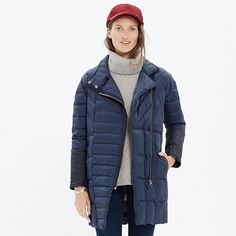 Madewell - Quilted Down Coat