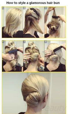 updo hair styles for long hair