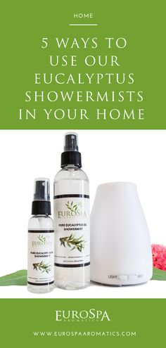 5 Ways to Use Our Eucalyptus ShowerMists in Your Home Eucalyptus Shower, Eucalyptus Oil, All Natural Cleaners, Essential Oils Cleaning, Shower Towel, Essential Oil Diffuser Blends, Christmas Gift Guide, Diffusers, 5 Ways