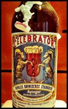 Celebrator - Ayinger  Very Eclectic beer