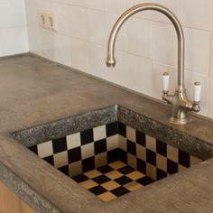 Get The Look : Checkmate Interior Design Inspiration, Home Decor Inspiration, Interior Architecture, Interior And Exterior, Küchen Design, House Design, Sink Design, Kitchen Interior, Home Kitchens