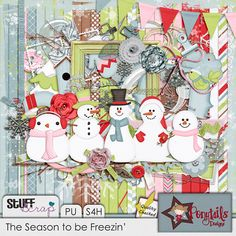 The Season to be Freezin' by Ponytail Designs
