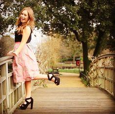 Tanya Burr Tanya Burr, Zoe Sugg, Tyler Oakley, Youtubers, Dress Skirt, Most Beautiful, Photo And Video, How To Wear, Internet