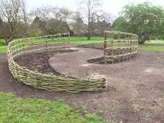 Woven Willow Garden Sculptures - WonderWood