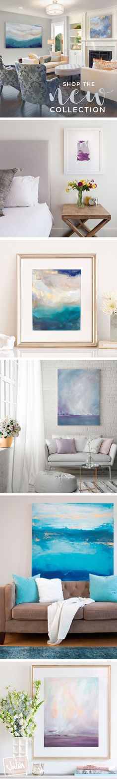 Original paintings, canvas gicleés and framed prints make up the new collection from @contacessi. Whether it's an original or reproduction that will fit your needs and budget, there are loads of options. Artwork is personal, and finding that perfect piece should be as well.