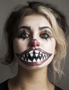 45+ Examples of DIY Halloween Makeup | Freaky clowns, Clown makeup ...