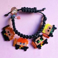 Harry Potter bracelet hama mini beads by Mrs. Poppy