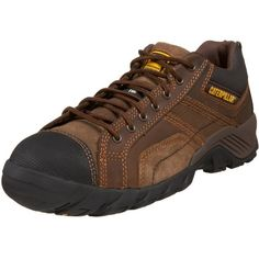 Caterpillar Mens Argon Comp Toe LaceUp Work Boot -- You can get additional details at the image link. (This is an Amazon affiliate link)