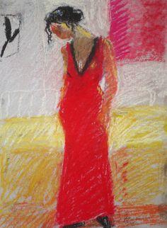 Rose Hilton - Pastels | Hilton Fine Art Gallery Pastel Roses, Colour Field, Spanish Painters, Woman Painting, Woodblock Print, Fine Art Gallery, Female Art, Poppies, November 2013