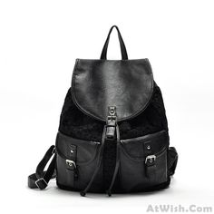 Wow~ Awesome Fresh Hollow Lace Flower Drawstring Hasp Satchel Travel School Backpack! It only $30.99 at www.AtWish.com! I like it so much<3<3!