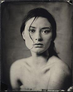 Photographie, Grand format dans Gens, Portrait, Femme, View Camera 4x5, ambrotype - Image #522561