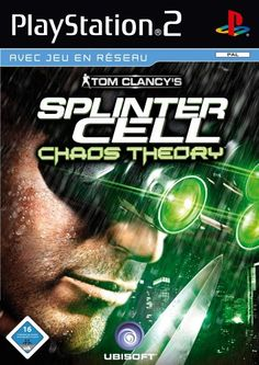 Tom Clancy's Splinter Cell: Chaos Theory Game for the Nintendo Gamecube (GC). Buy Now from Fully Retro! Splinter Cell Chaos Theory, Tom Clancy's Splinter Cell, Kingdom Hearts 1 Ps2, Xbox 360, Playstation 2, Juegos Ps2, Cell Theory, Cube Games, Nintendo