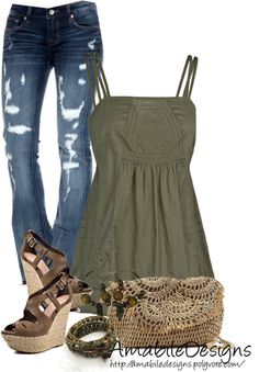 """Spring"" by amabiledesigns ❤ liked on Polyvore"