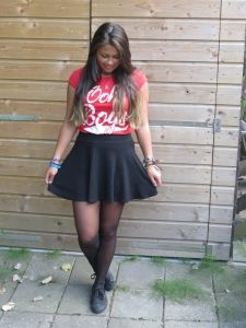 #balancescene, #bbfo, #kledingstijl, #streetfashion  Her own #fashionstyle. It is lovely