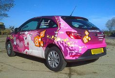 Girly car wrap vehicle graphics Girly Car, Car Wrap, Graphics, Toys, Vehicles, Graphic Design, Toy, Rolling Stock, Games