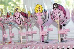 Hey, adults can have PJ parties too! These ladies hosted one with a pink theme.