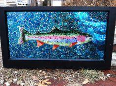 Rainbow Trout #11 courtesy of Kickin' Glass Kansas.