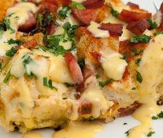 Cajun Delights: Cajun Eggs Benedict Casserole + A Cajun Waltz