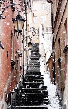 Snowy Day.. Warsaw, Poland | Flickr - Photo by PolandMFA