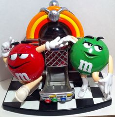 Vintage c.1980s MINT condition M&M's Candy by BuyfromGroovy