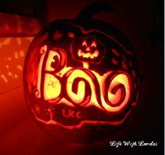 Pumpkin Carving of BOO
