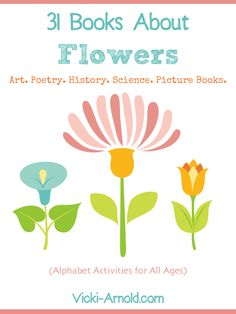31 Books About Flowers - F is for Flower