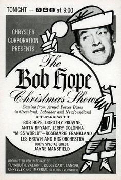 1962 nbc tv ad bob hope christmas show northern california stations tv5 - Christmas Shows Tonight