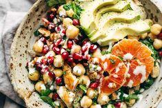 Spa Salad | pinchofyum.com