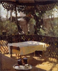 Two Wine Glasses  - John Singer Sargent