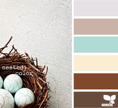 ***Favorite Colors So Far (look for other pins)*** coastal color palette with darks exceptions