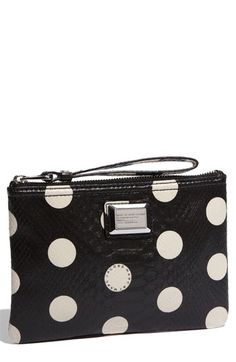 MARC BY MARC JACOBS 'Dotty Snake' Faux Leather Wristlet | Nordstrom - StyleSays