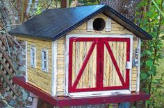 Country Shed Birdhouse | Flickr - Photo Sharing!