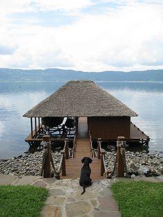 Hermosa vista de Lago de Coatepeque, #ElSalvador.