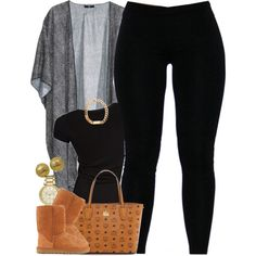 A fashion look from December 2015 featuring Core Spirit t-shirts, H&M and UGG Australia ankle booties. Browse and shop related looks.