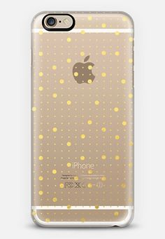 Pin Points Gold Transparent iPhone 6s case by Project M | Casetify