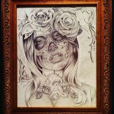 Tatu baby Art #sketch #HotInk #Muerta (Taken with Instagram)