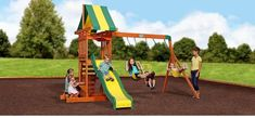 Swing and Slide into hours of fun with the Sunnydale Play Centre.   Perfect for small yards, the Sunnydale has so much play space for everyone with 2 belt swings and a trapeze. Sand box, rock climbing wall, 2.4m speedy slide, and snack stand create heaps of ways to play.  Shop Here:  and Play Now, Pay Later with #Afterpay #humm #zip and #Laybuy  #outdoor #play #equipment #kids #swing #slide #sandpit #fort #climb #toys #australia