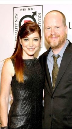 Alyson Hannigan and Joss Whedon at Equality Now event
