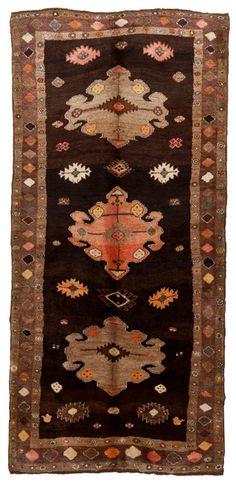 Vintage Anatolian Kars Rug