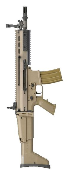 FN SCAR-L CQB - 5.56x45mm NATO. Would rather have it in 7.62....but 5.56 will do!!!