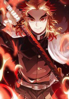 Demon Slayer( Kimetsu No Yaiba) Photo+memes - Handsome rengoku - Wattpad Anime Angel, Anime Demon, Otaku Anime, Manga Anime, Anime Art, Demon Slayer, Slayer Anime, Fanarts Anime, Anime Characters