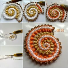 Irish crochet &: Irish crochet by ARSI.Ирландские мотивы. Пастельные тона…