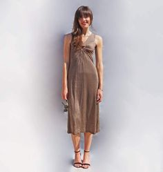 83a38d4c75 Brown Polka Dot Long Dress. This stunning 1960s brown polka dot dress is so  beautiful.