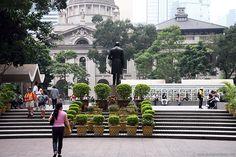Statue Square in the Central District