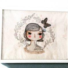 #ursulanieto Handmade embroidery