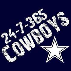 True Dallas Cowboy Fan.