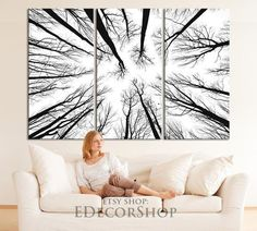 39 Stylish Branches Dried Tree Décor Ideas Can Inpsire Large Canvas Wall Art, Extra Large Wall Art, Canvas Art Prints, Framed Prints, Art Prints Quotes, Wall Art Quotes, Grand Art Mural, 1 Samuel 1 27, Dry Tree