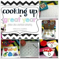 Miss Kindergarten: Alphabet Soup and Organizing Centers