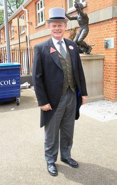 Martin Clunes Royal Ascot Day.