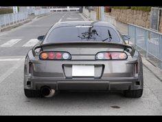 1000hp Toyota Supra burnout + exhaust sound